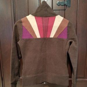 Rare Lululemon Patchwork Brown Zip Up Jacket Small